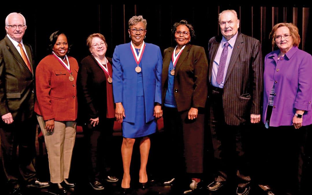 Hinds awards Emeritus status to four retirees