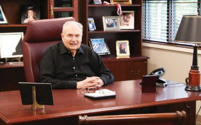 Retired president receives inaugural Hall of Fame award