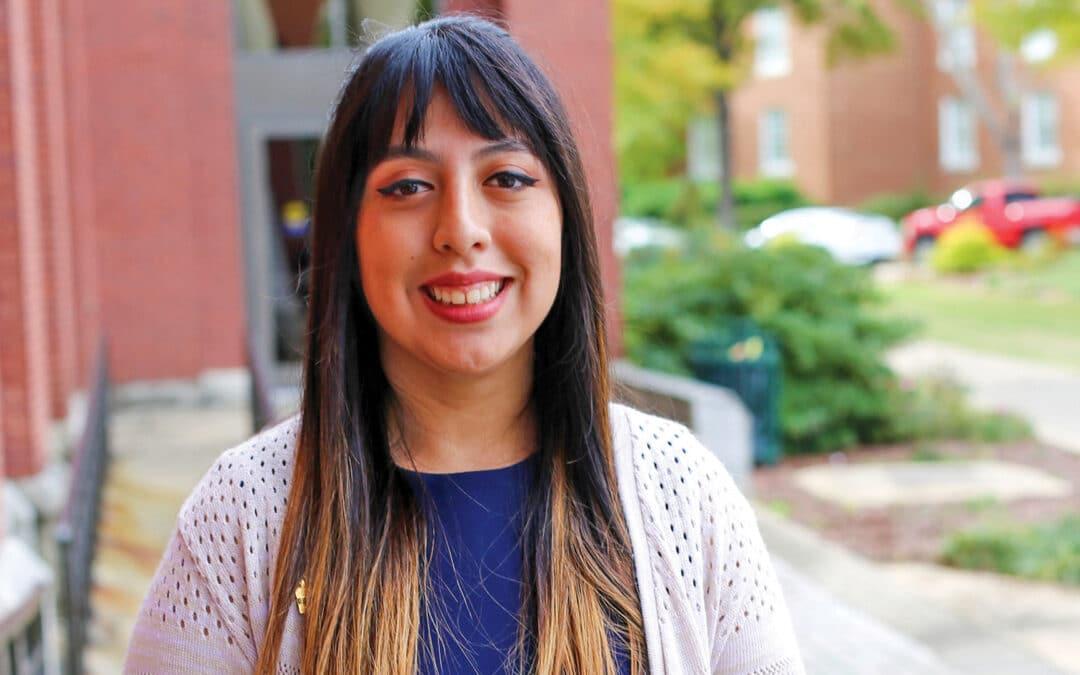 Serratos named a 2020 New Century Transfer Scholar