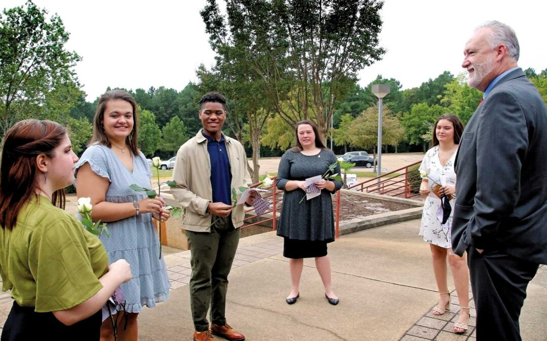 Students at heart of new president's priorities
