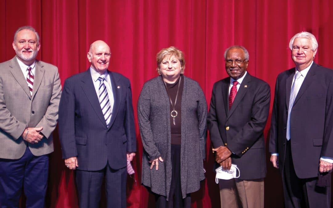 Hinds awards Emeritus status to four retirees in Spring 2021