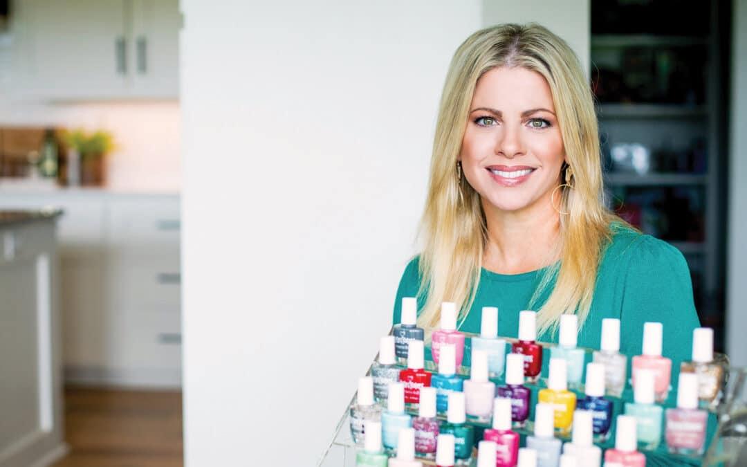 Kylie's Kolors nail polish: faith in action